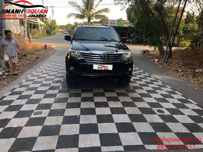 Camera 360 DCT cho Toyota Fortuner 2012 bản T1
